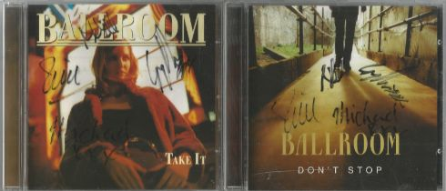 6 Signed CDs Including BBMak (Still on your Side) Disc Included, James Mitchell (The Magic of the
