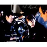 007 James Bond movie The Spy Who Loved Me photo signed by actor Christopher Muncke who played a