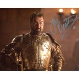 Game of Thrones 8x10 photo signed by actor Ian Beattie. Good condition. All autographs come with a