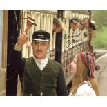 The Railway Children. 8x10 scene photo signed by actor Bernard Cribbins. Good condition. All