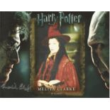 Melita Clarke signed 10x8 colour image. Image of her time playing a wizard on popular family film