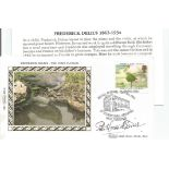 Peter Maxwell Davies signed FDC remembering one of Frederick Delious' fine works from 1912 titled,