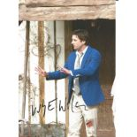 Luke Wilson signed 10x8 image taken whilst on the set of the Meeting Evil in 2012. Good condition.
