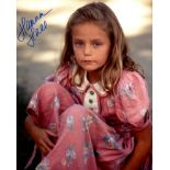 Forrest Gump actress Hanna Hall who played his childhood friend signed 8x10 photo. Good condition.