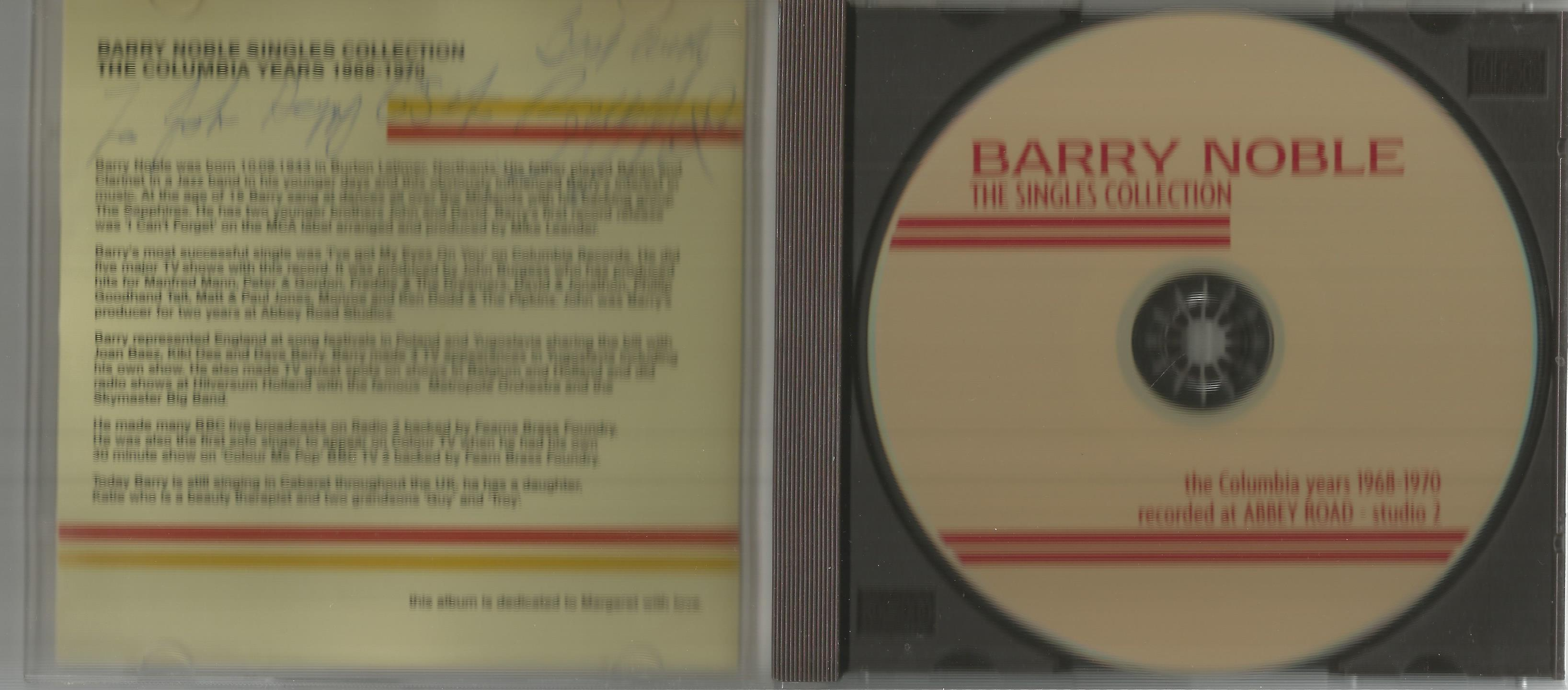 6 Signed CDs Including Michael Graham (Inspirations) Disc Included, Hazel O'Connor (The Bluja - Image 3 of 6