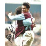 Steve Jones signed 10x8 colour West Ham football photo. Good condition. All autographs come with a