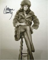 Joanna Lumley signed 10x8 colour photograph. Lumley is a British actress, presenter, former model