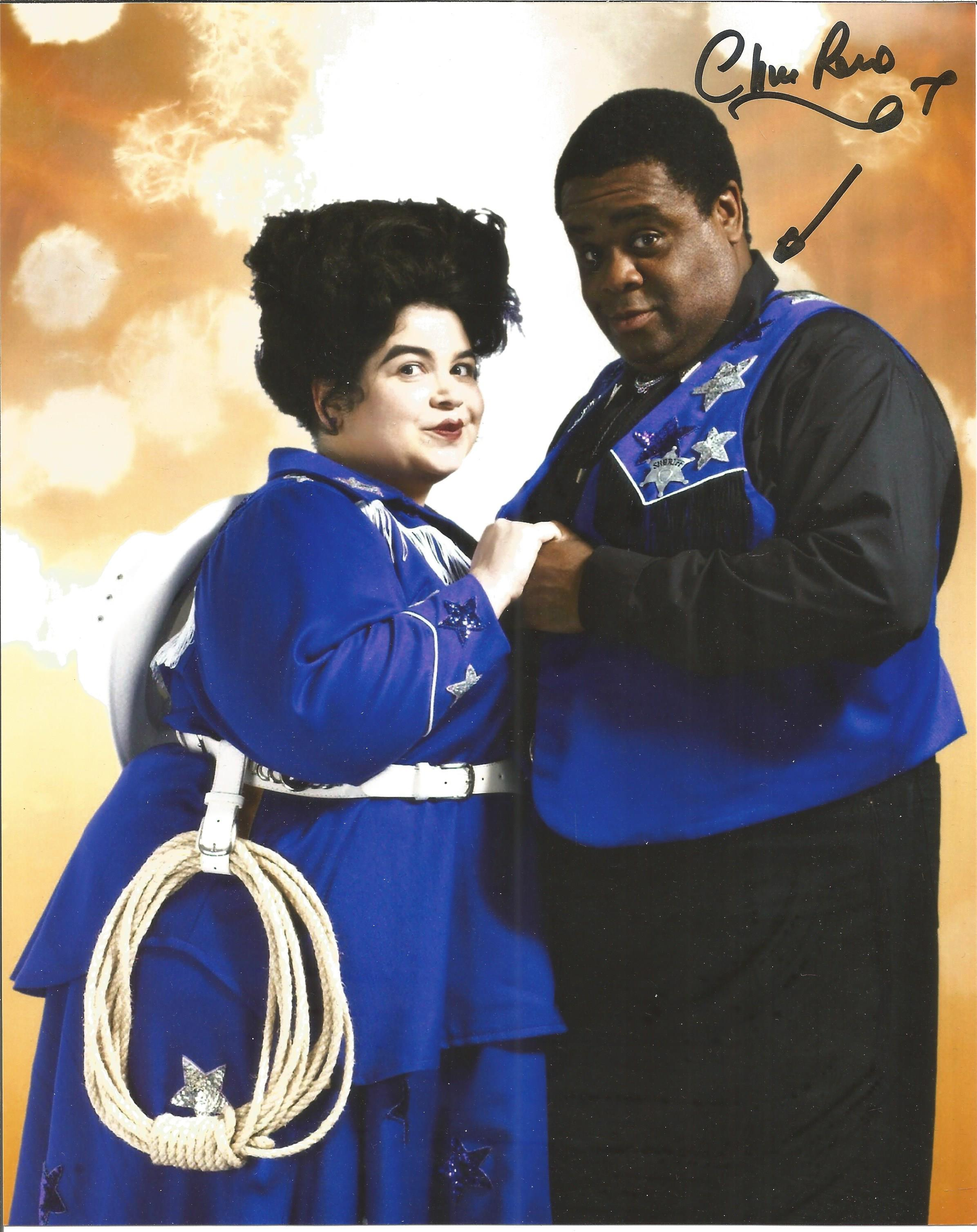 Clive Rowe signed 10x8 colour image. Clive is a British actor, best known for his role as Norman