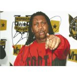 Music KRS one signed 12x8 colour photo. Good condition. All autographs come with a Certificate of