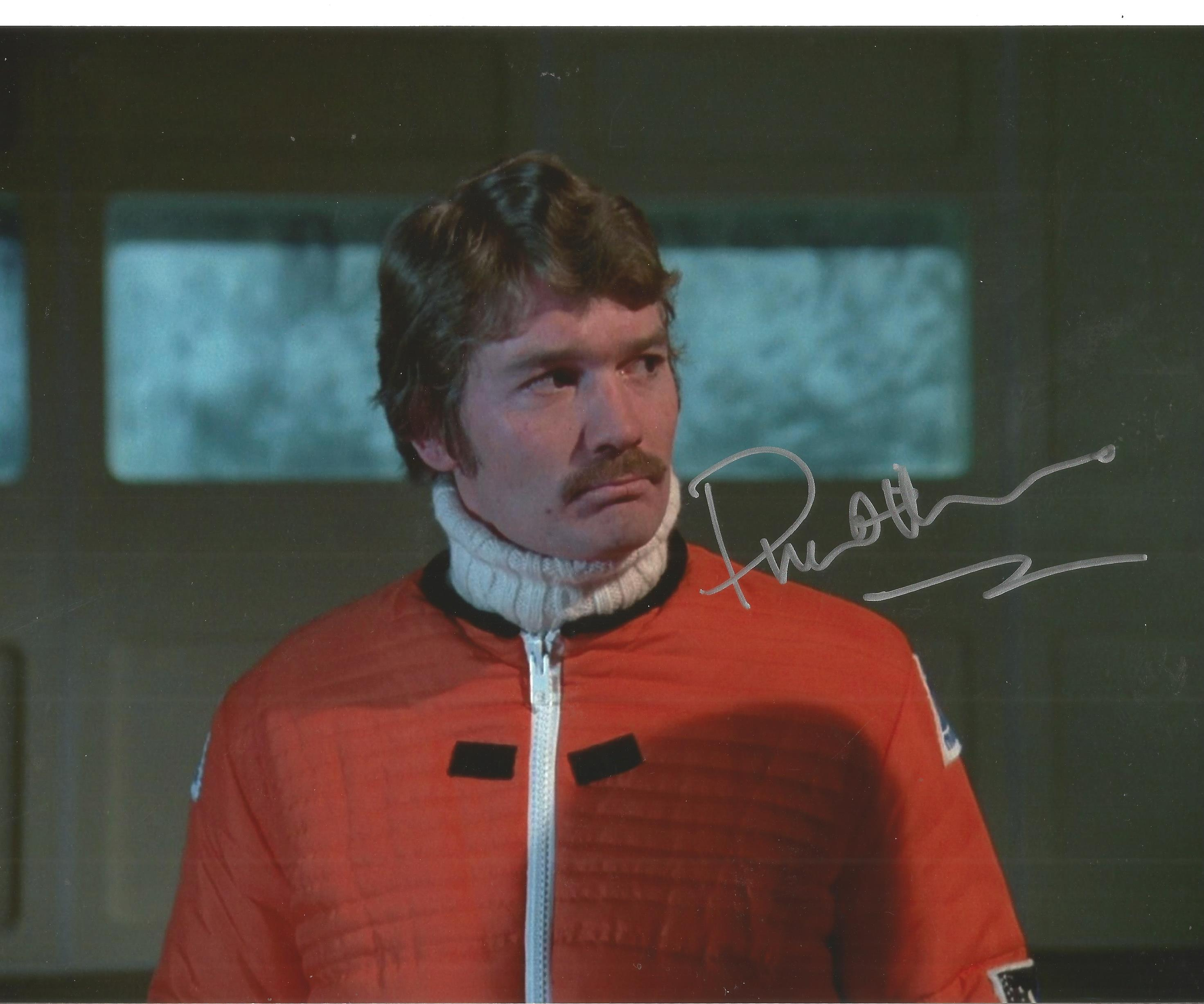 Prentis Hancock signed 10x8 colour photo. Good Condition. All autographs come with a Certificate.
