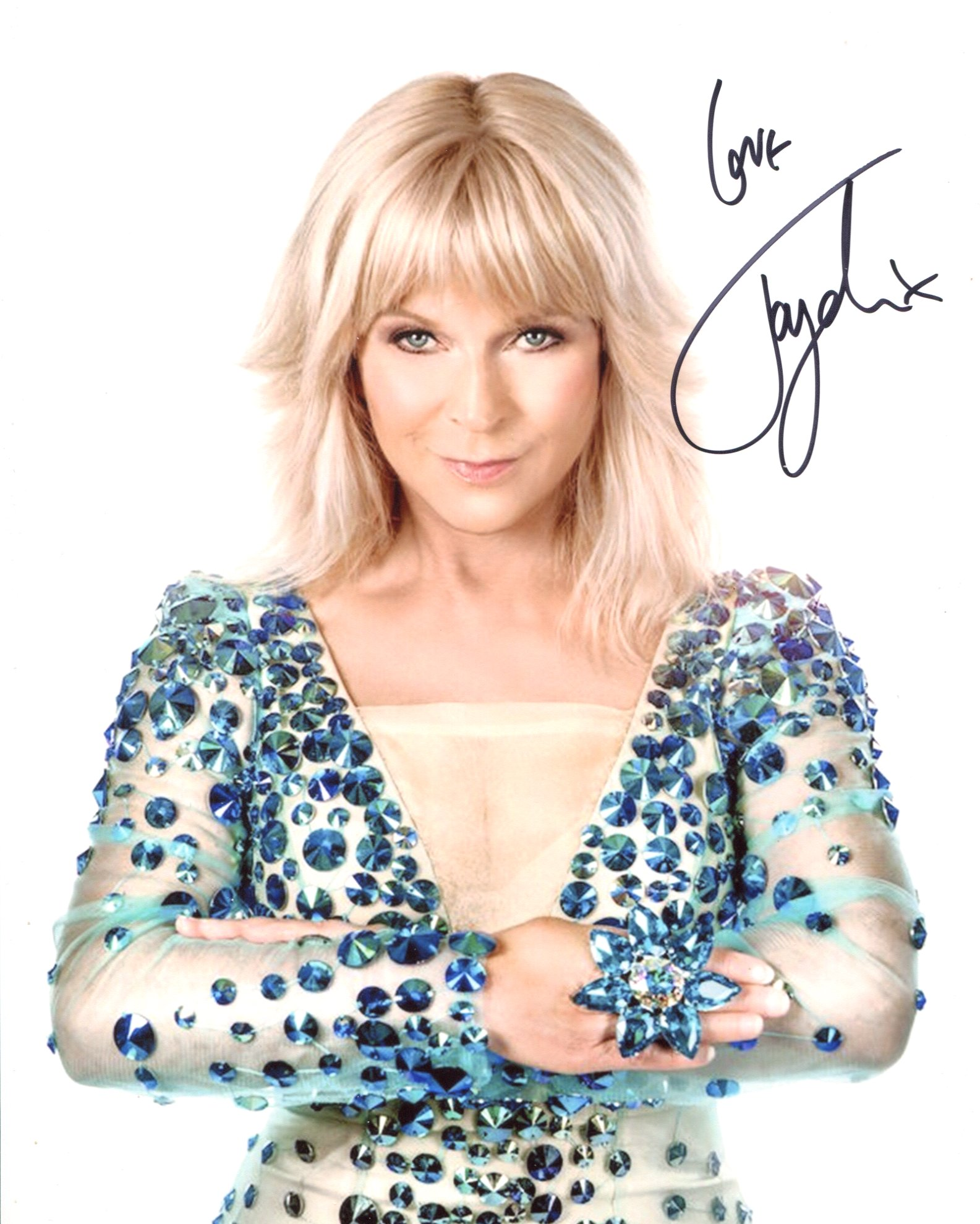 Toyah. Nice 8x10 photo signed by pop star and Quadrophenia actress Toyah Willcox. Good condition.