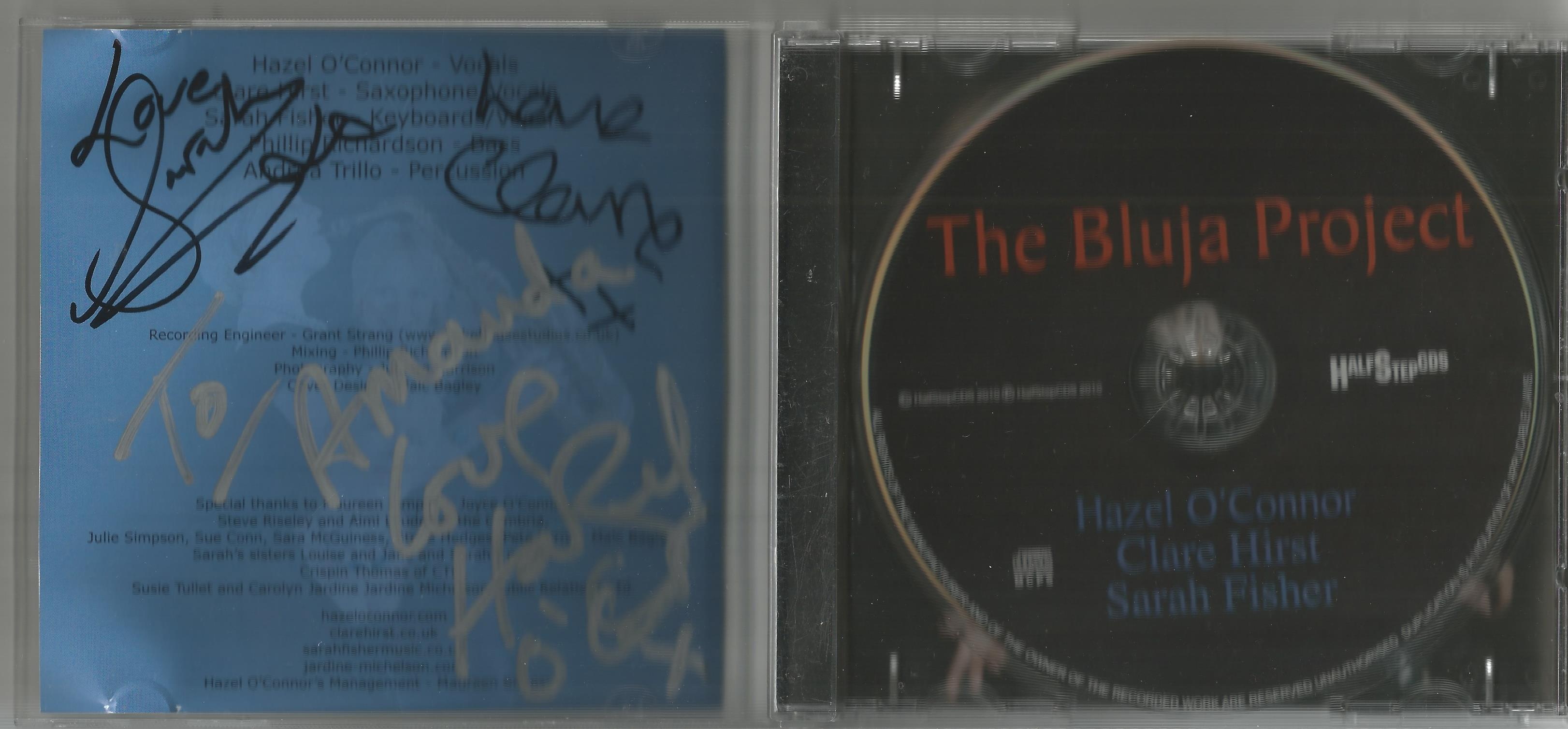 6 Signed CDs Including Michael Graham (Inspirations) Disc Included, Hazel O'Connor (The Bluja - Image 4 of 6
