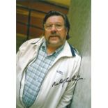 RICKY TOMLINSON Actor signed 8x12 Photo . Good condition. All autographs come with a Certificate