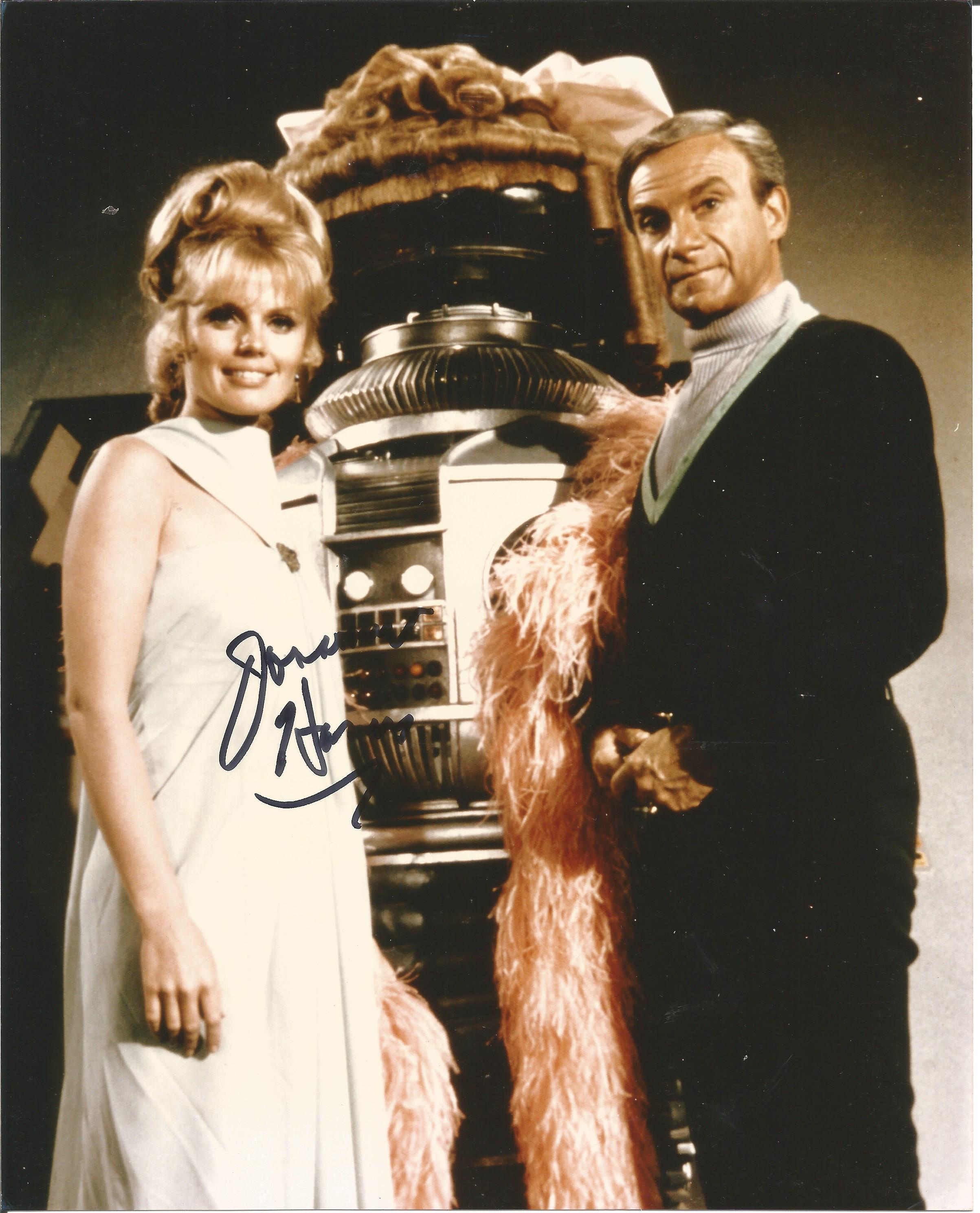 Jonathan Harris signed 10x8 colour photograph taken from his time playing Dr. Zachary Smith in