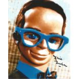David Graham signed 10x8 colour photograph of his character Brains, Parker in the TV series