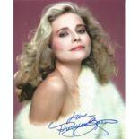 Priscilla Barnes signed 10x8 colour photograph pictured as she plays Della Churchill in 007 James