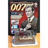 James Bond car collection edition no 37 Chevrolet Corvette scale Model from A View To A Kill comes