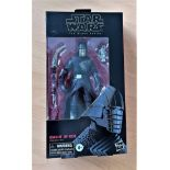 Star Wars, The Black Series miniature action figure of Knight of Ren. This item is still complete in