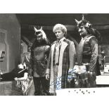 Doctor Who collection contains a 8x6 black and white signed photograph by Colin Baker pictured as he