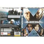 Ian McKellen signed DVD sleeve taken from the film X-Men 2. McKellen was known for portraying Erik