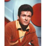 Mark Goddard signed 10x8 colour photograph taken as he portrays Major Don West, the hot-tempered