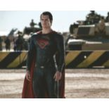 Henry Cavill signed 10x8 colour photograph taken during his time playing Clark Kent, DC superhero,