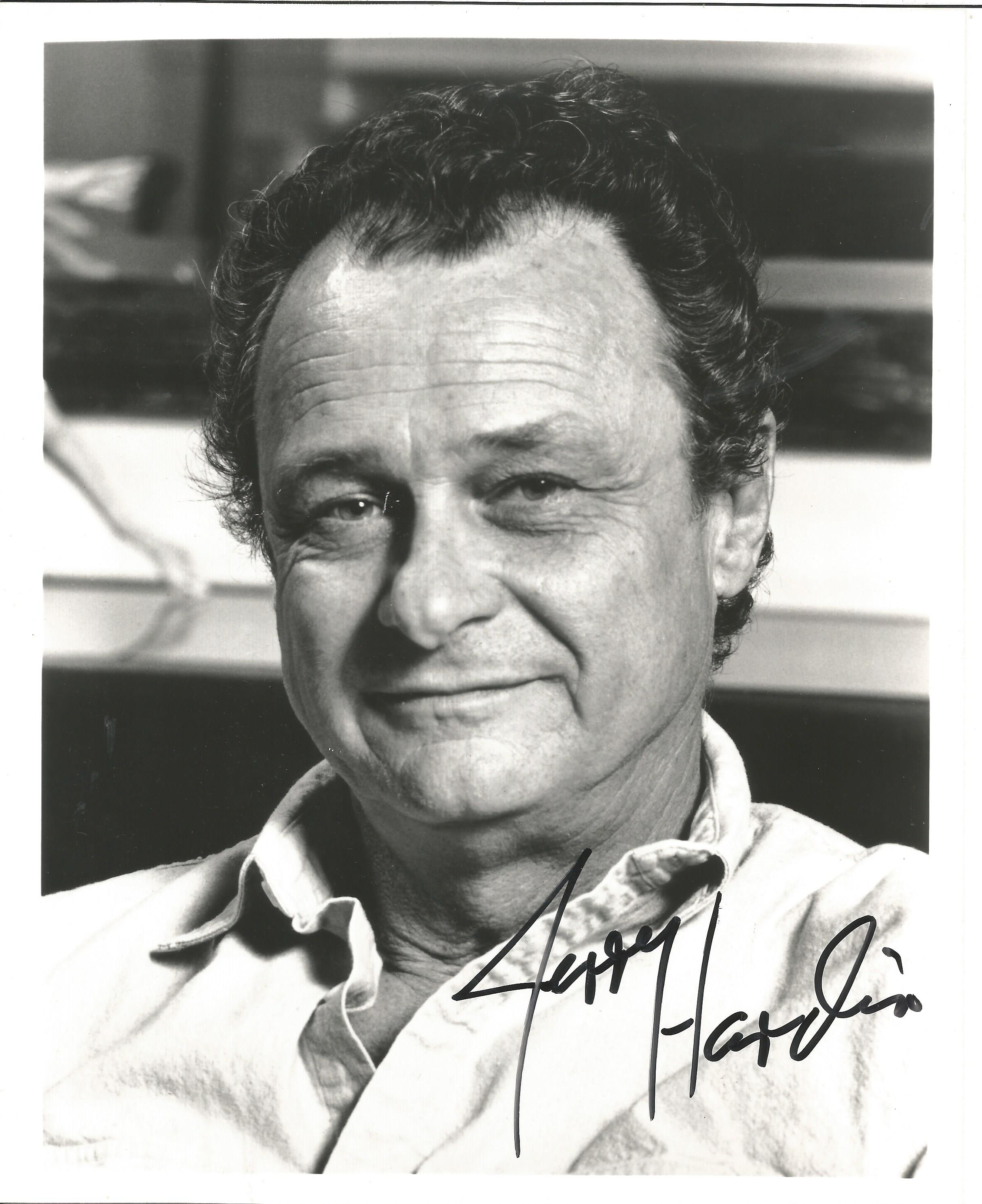 Jerry Hardin signed 10x8 black and white photo. Jerry Hardin (born November 20, 1929) is an American