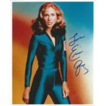 Erin Grey signed 10x8 photograph pictured during her time playing Colonel Wilma Deering in Buck