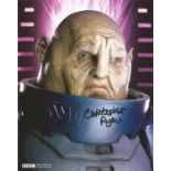 Christopher Ryan signed 10x8 colour photograph taken during his role in the science fiction series