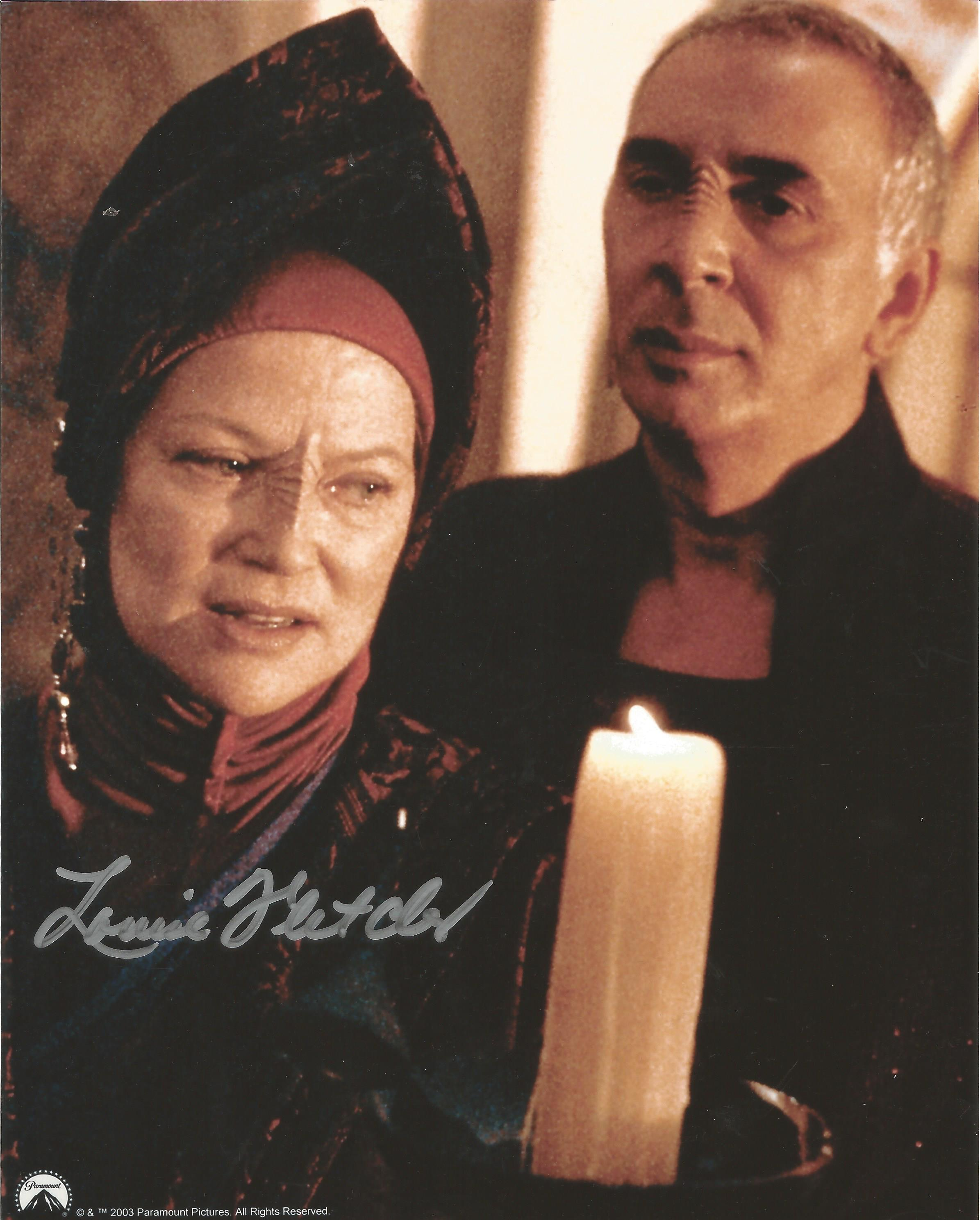 Louise Fletcher signed 10x8 colour photograph pictured during her role in Star Trek: Deep Space Nine