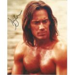 Kevin Sorbo signed 10x8 colour photograph. Sorbo is well known for his role as legendary God-hero,