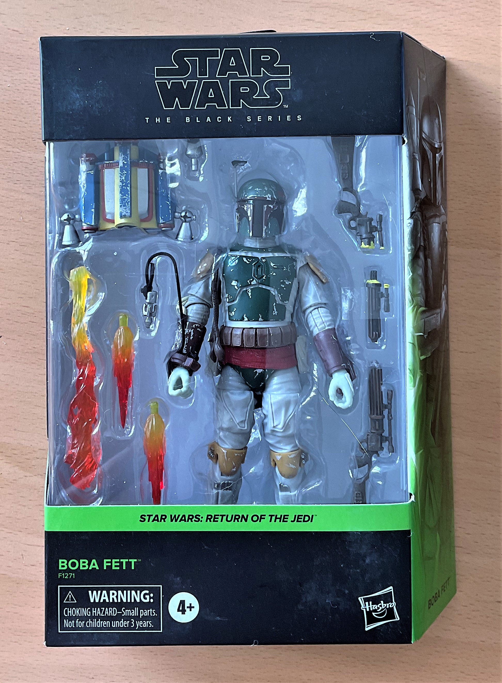 Star Wars, The Black Series miniature action figure of Boba Fett taken from Star Wars; Return of the - Image 3 of 3