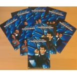 James Bond collection of 8 post cards featuring promo shots from the 1997, 007 spy film- Tomorrow