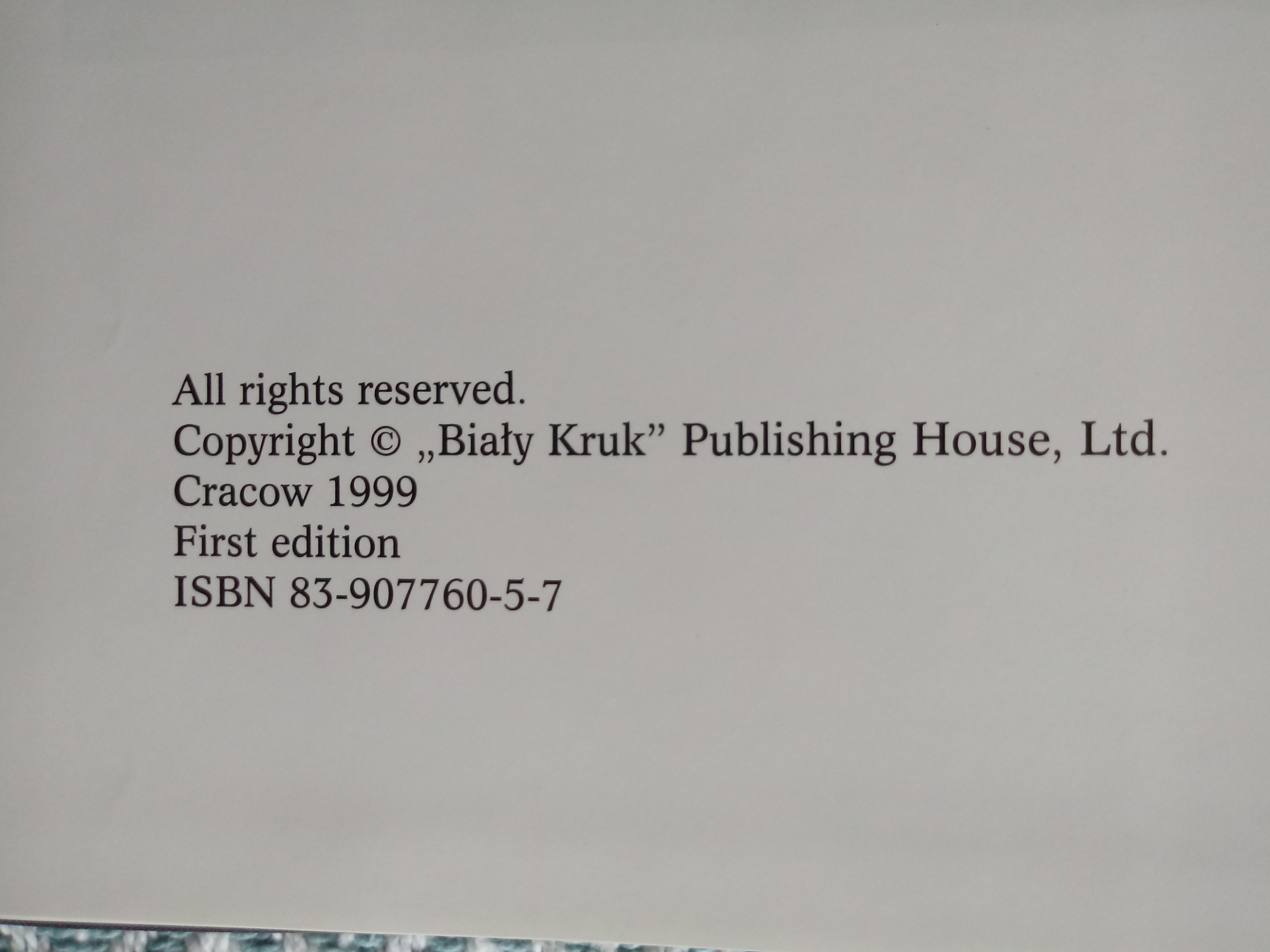 The Royal Cracow hardback book by Adam Bujak. First edition signed by author. Published 1999 Bialy - Image 3 of 3