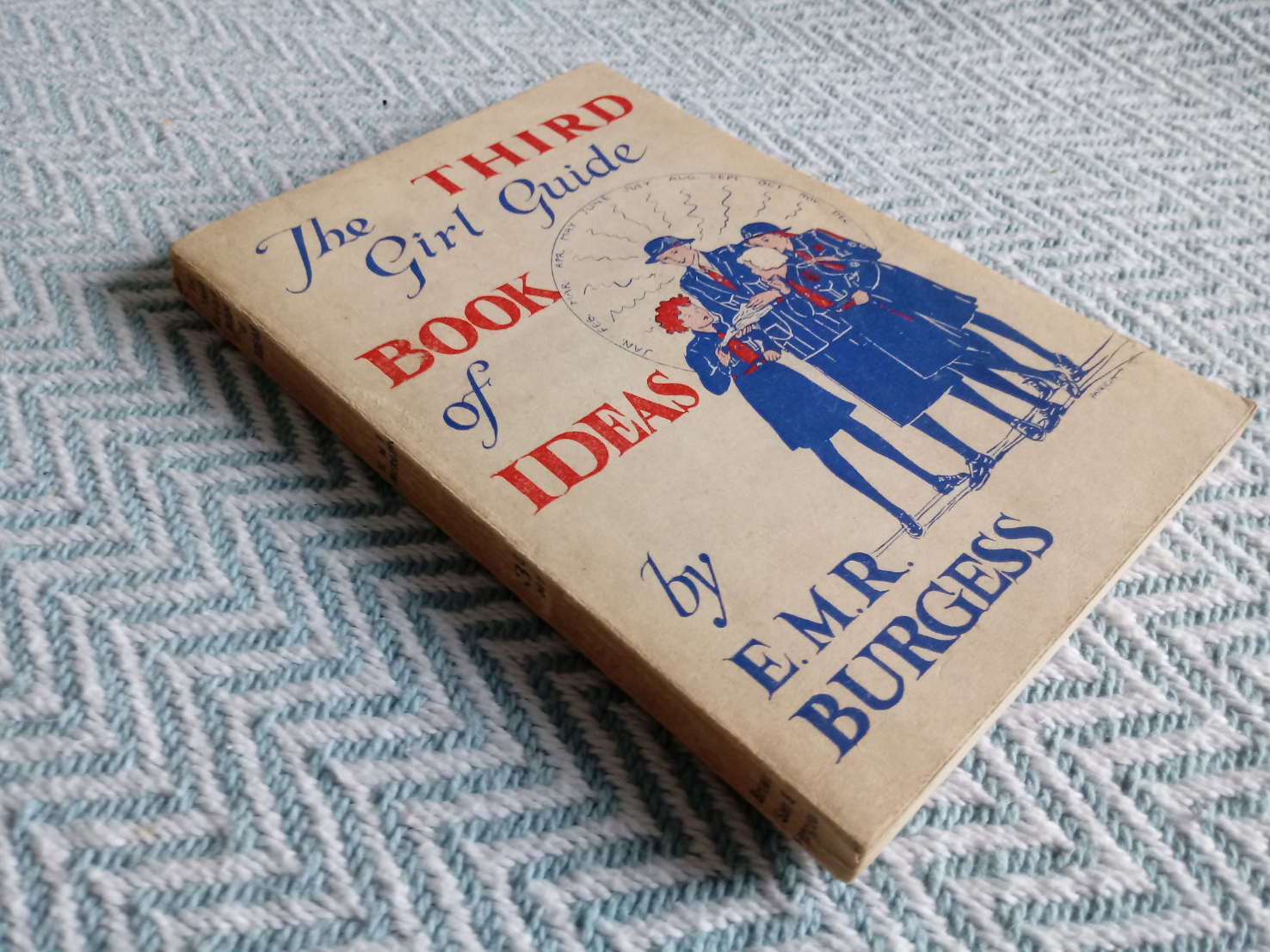 3 x Girl Guide Book of Ideas by E. M. R. Burgess softback books Published1939 and 1943 Brown, - Image 9 of 11