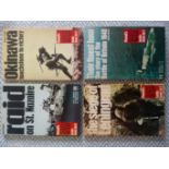 4 x Purnell's History of the Second World War battle books softback books Published Macdonald and