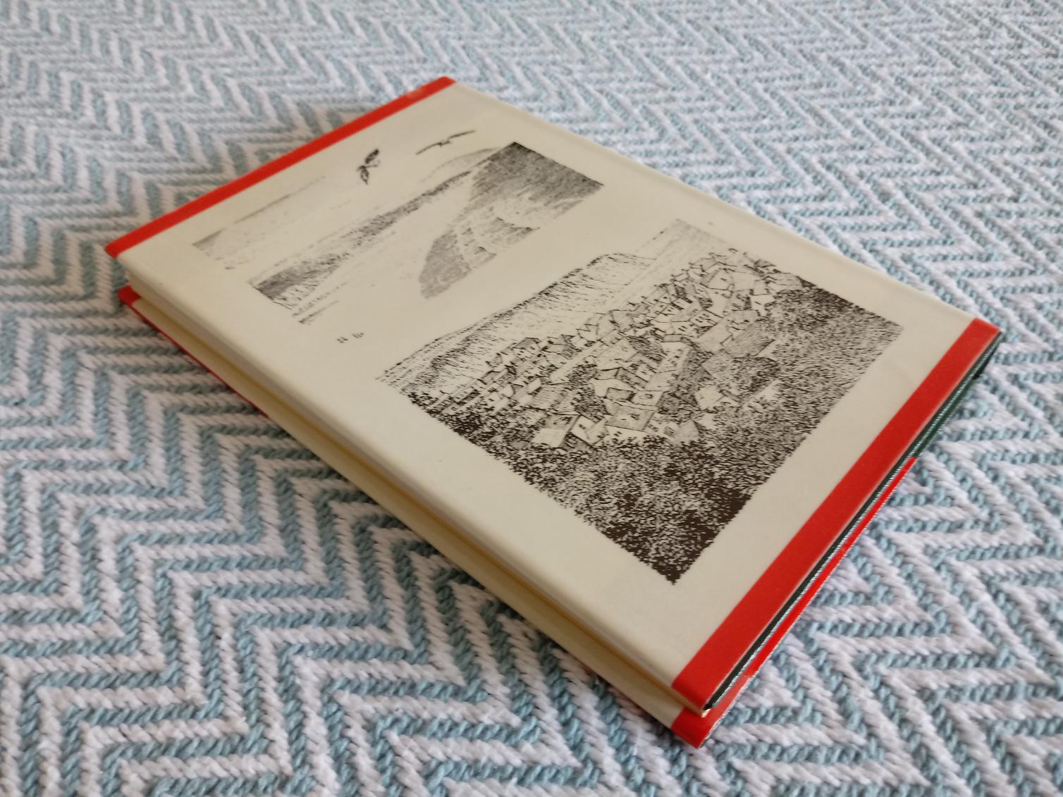 A Coast to Coast Walk by A. Wainwright hardback book 168 pages published 1973 Westmorland Gazette.