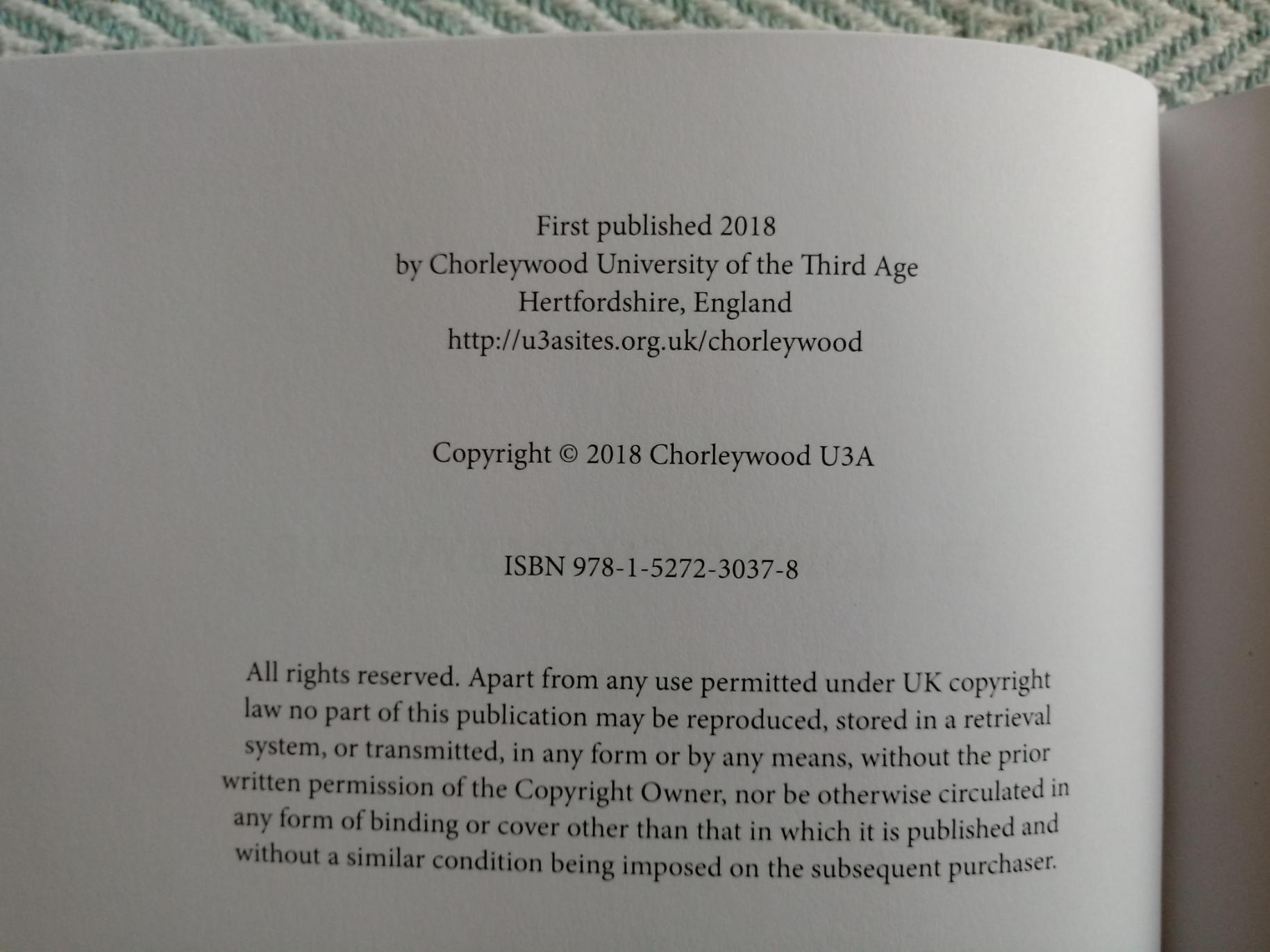 Exploring Chorleywood A Pictorial History by Members of Chorleywood U3A Sue Clark, David - Image 3 of 3