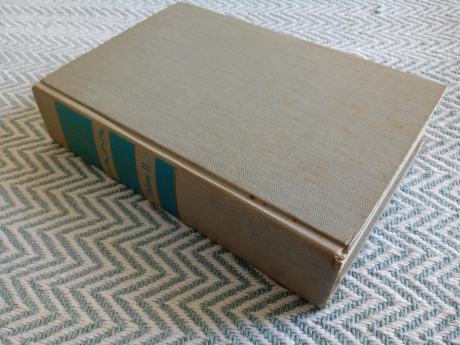 2 x The Tontine Volumes 1&2 by Thomas B. Costain hardback books 465 and 930 pages with inscription - Image 2 of 8