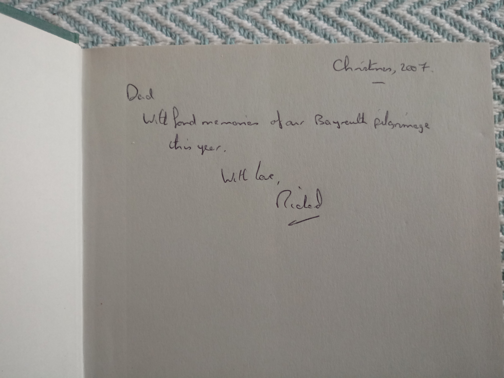 The Wagner Clan by Jonathan Carr hardback book 409 pages inscribed on inside page dated 2007 - Image 2 of 3
