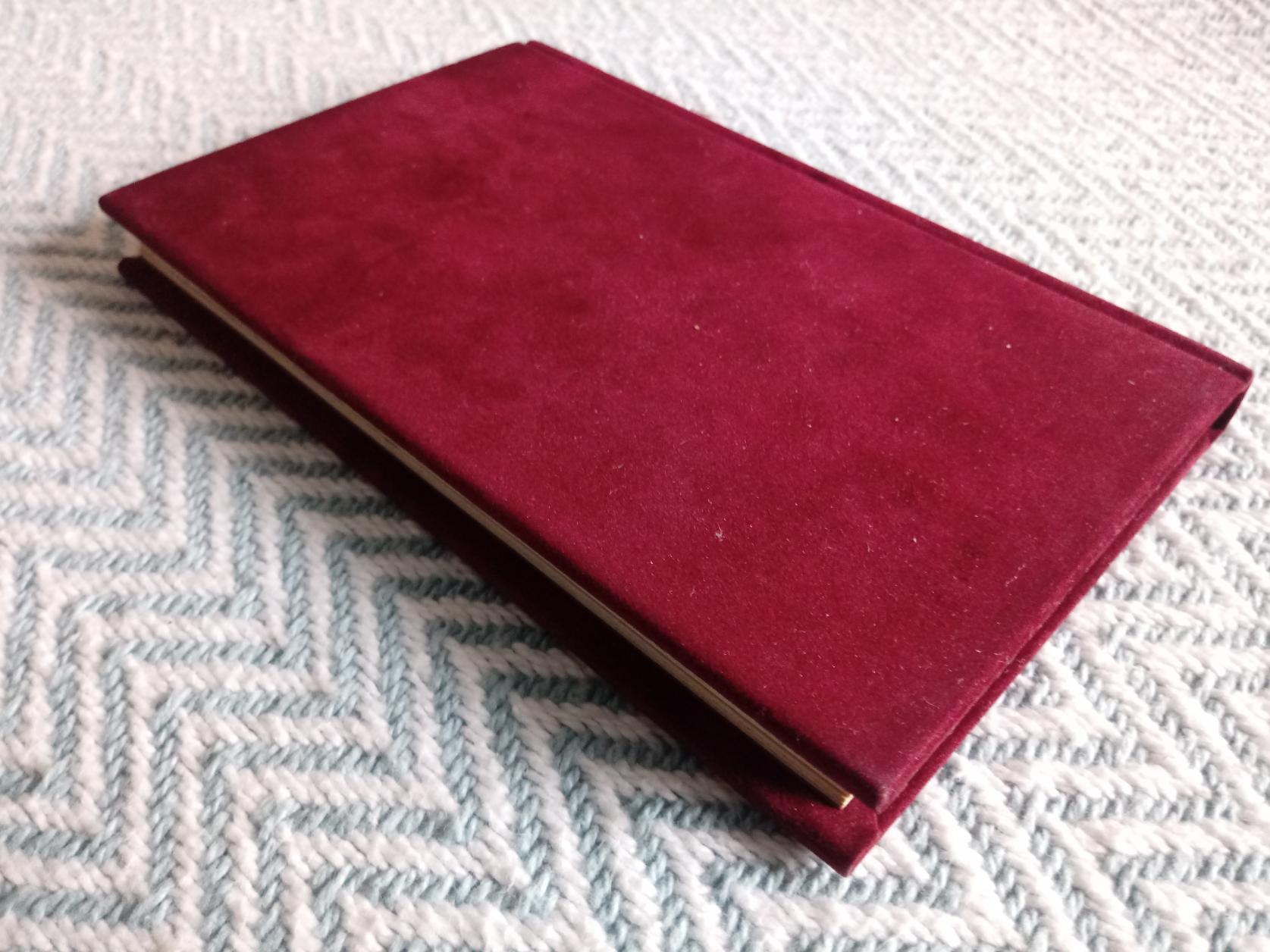 Love A Celebration Edited by Helen Exley velvet covered hardback book Published 1981 Exley - Image 2 of 3