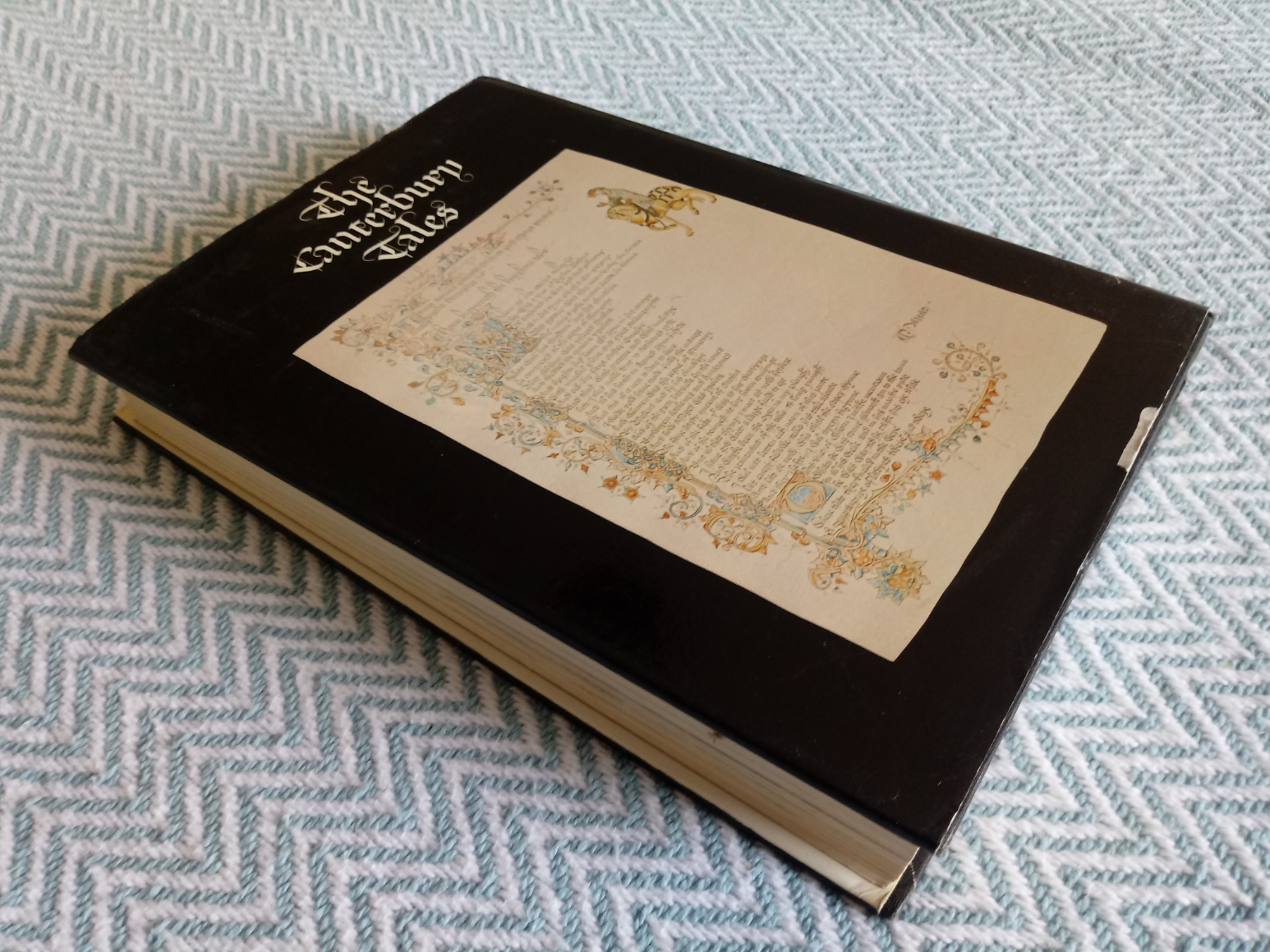 The Canterbury Tales An Illustrated Selection Rendered Into Modern English By Devill Coghill