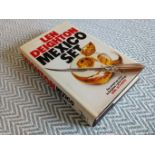 2 x Len Deighton hardback books Published Hutchinson 1 - Mexico Set 380 pages 2nd in Game Set &