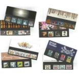 GB stamp presentation packs. 20 in total. 1982/1999. Good condition. We combine postage on