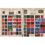 QV and GVI GB stamps on 5 loose album pages. High catalogue value. Good condition. We combine