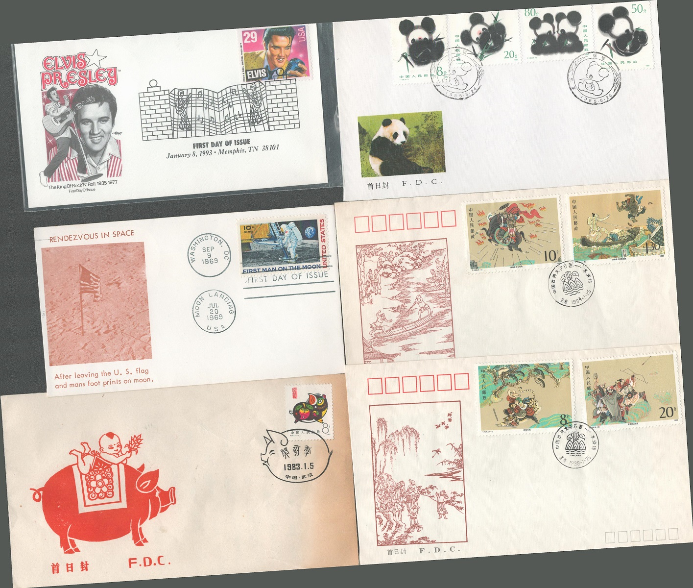 Cover collection. 13 in total mostly FDC's. Includes 6 Chinese, 1 Polish, 1 Russian, 1 Czech and 4 - Image 2 of 2