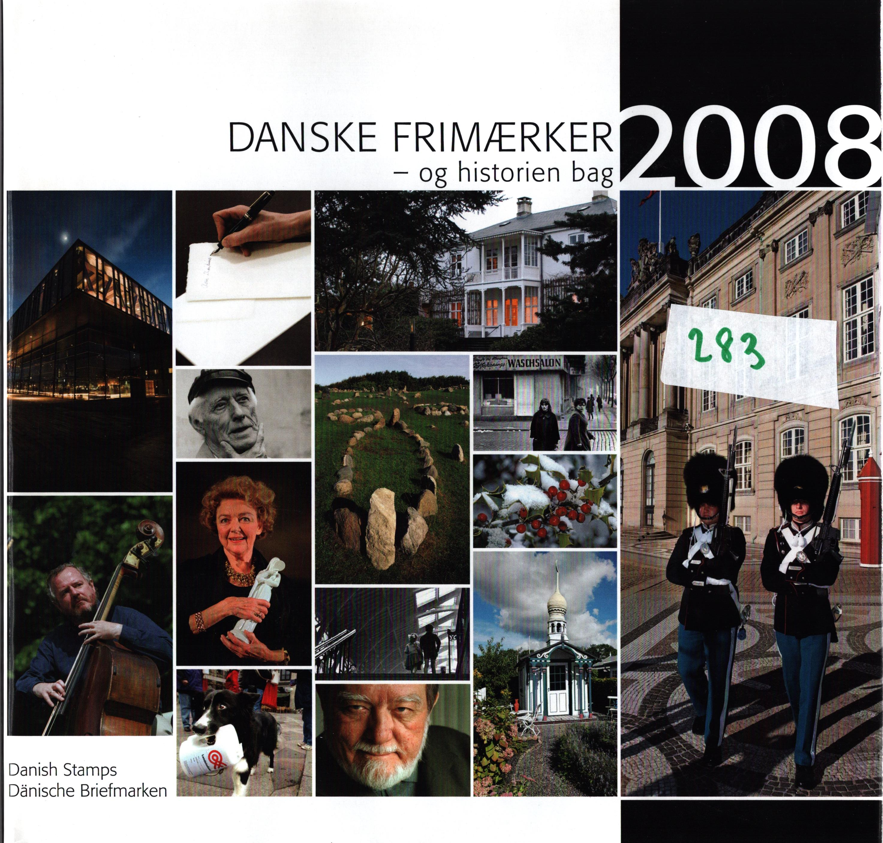 Danish 2008 stamp yearbook. Unmounted mint stamps. Good condition. We combine postage on multiple