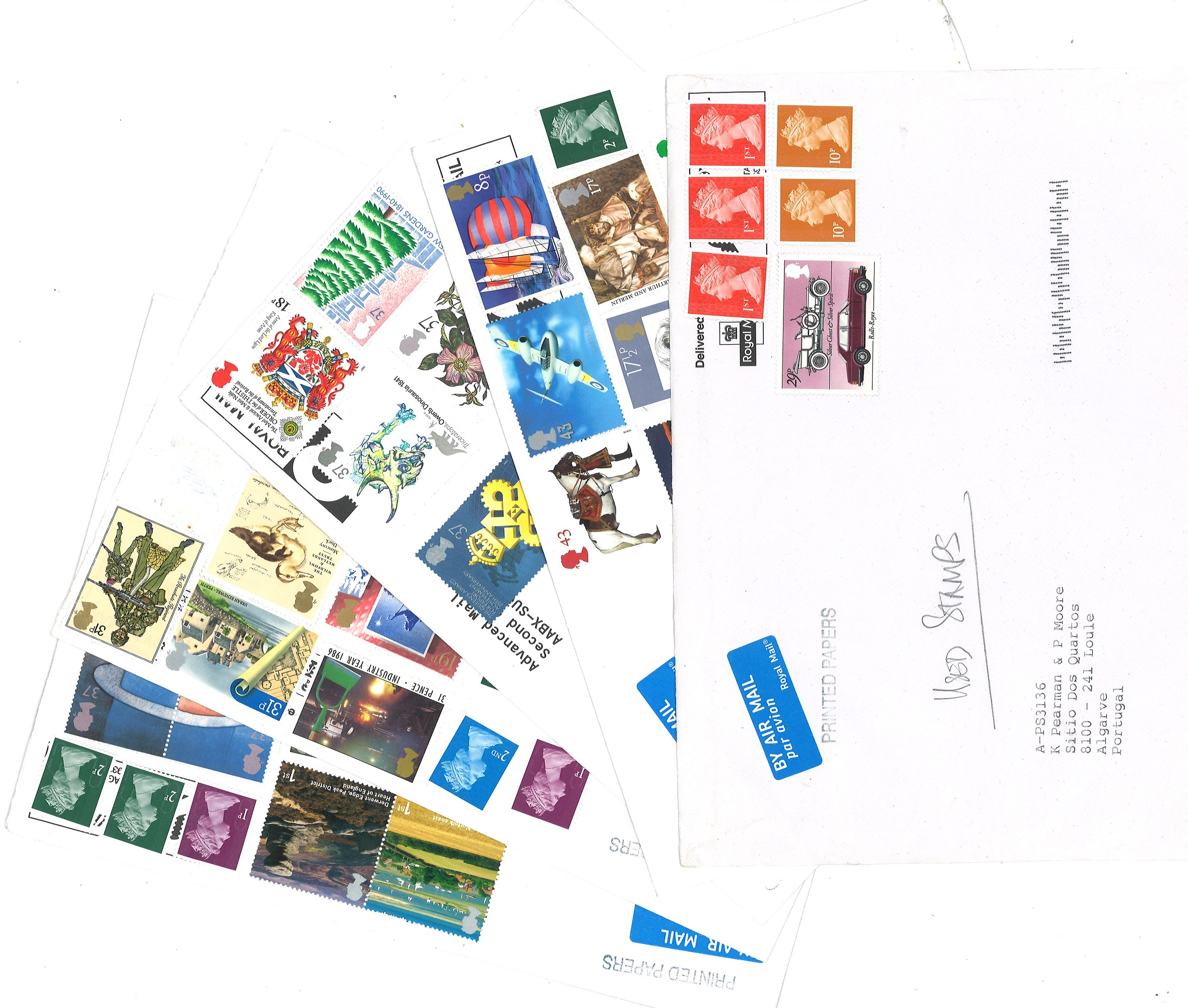 Postcard collection 16 cards from around the world plus 16 covers from GB. Good condition. We - Image 2 of 2