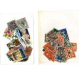 Commonwealth collection mainly George VI and other used commonwealth stamps. Good condition. We