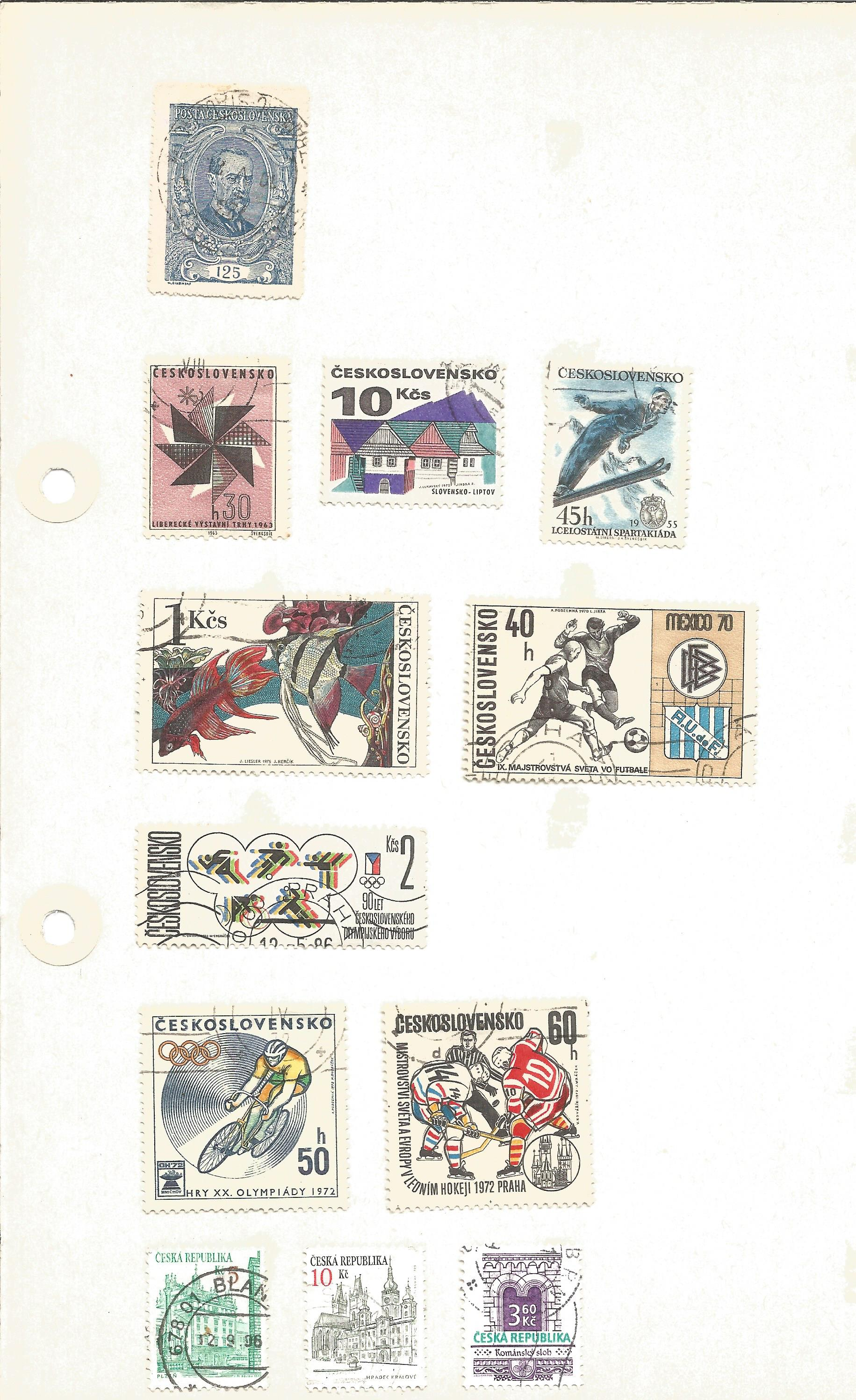 Bulgarian stamp collection on 7 loose pages. Good condition. We combine postage on multiple